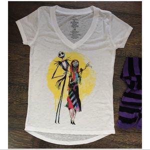 Nightmare before Christmas T-shirt • Jack & Sally